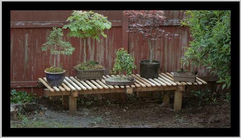 Wooden Bonsai Bench Plans Pdf Plans