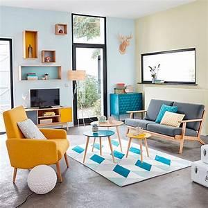 soggiorno, vintage, , tante, idee, di, arredamento, in, stile, retr, u00f2