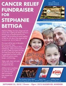 Benefit Fundraiser Flyer Template