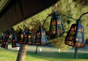 patio string lights car interior design