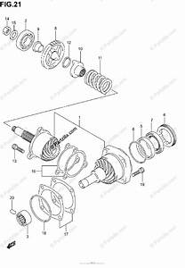Suzuki Motorcycle 2002 Oem Parts Diagram For Secondary Drive Gear