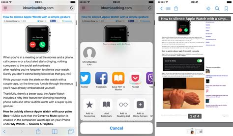 how to view pdf on iphone how to save webpages as pdfs on iphone and