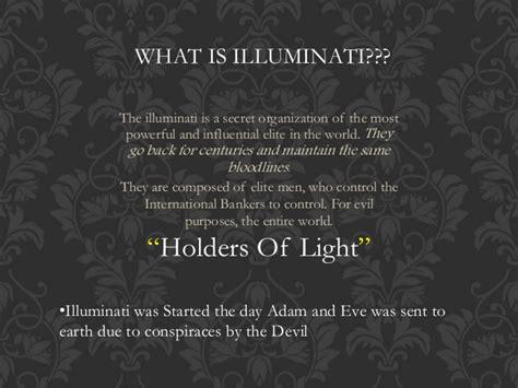 what is the illuminati intro to illuminati
