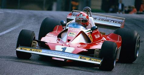 The year of 312 t2's debut was 1976, with niki lauda leading the world championship before his suspension failed at the german grand prix at. Watch: Niki Lauda wins from pole - his second consecutive win for Ferrari in Monaco (1976)