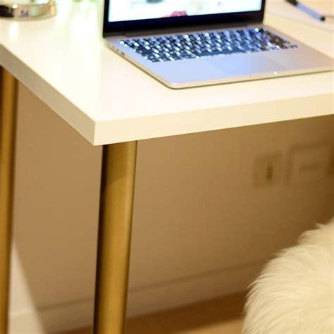 bureau customisé diy 18 déco un bureau customisé avec des pieds or