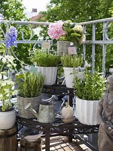 der eigene krautergarten auf balkon With kräutergarten balkon ideen