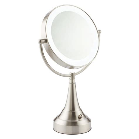 swivel led makeup mirror  container store