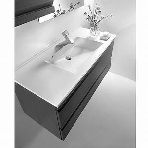 meuble valenzuela allegro 60x46x46 deux tiroirs et vasque With salle de bain design avec vasque à poser rectangulaire 70 cm