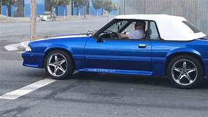 Mustang Donuts 5.0 Foxbody pick one blk or blue? - YouTube