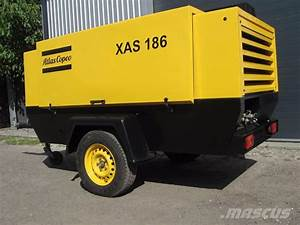Used Atlas Copco Xas 186 Compressors Year  1999 Price   9 992 For Sale