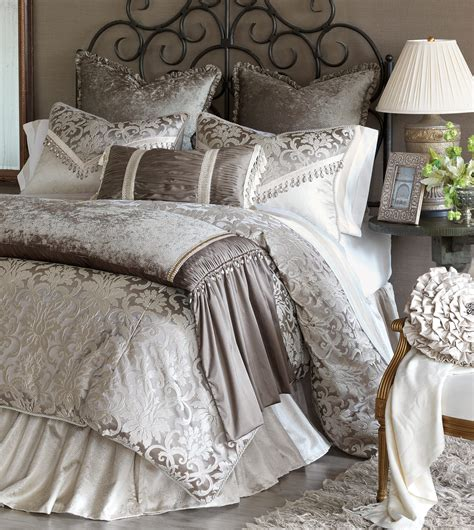 luxury bedspreads comforters marquise luxury bedding by eastern accents leblanc