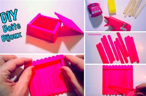 reve cuisine fabriquez une boîte à bijoux avec de simples bâtonnets de