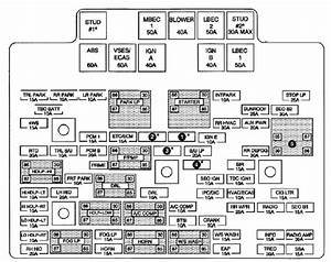 2004 Chevy 3500 Fuse Box Location