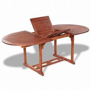 Table De Jardin Extensible Pas Cher : acheter table de jardin ovale extensible en bois pas cher ~ Dailycaller-alerts.com Idées de Décoration