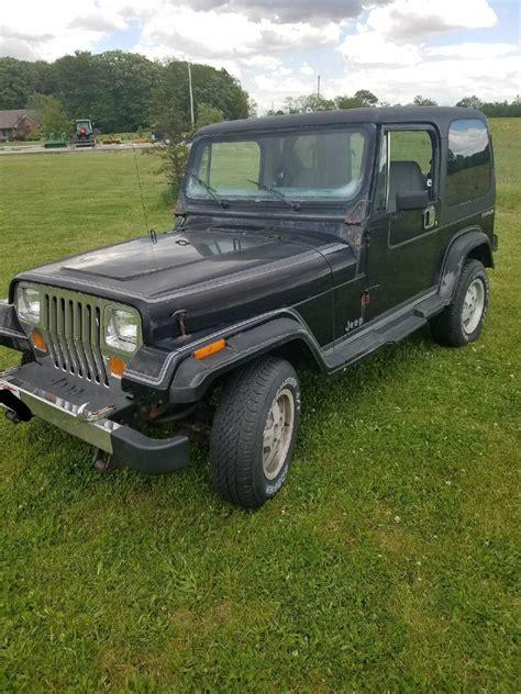 jeep grey gray 1988 jeep wrangler for sale