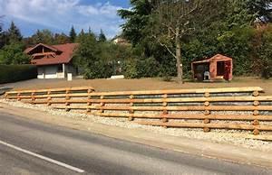 Mur De Photos : mur de sout nement en bois lucinges 74 haute savoie ~ Melissatoandfro.com Idées de Décoration