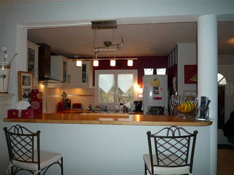 bar pour cuisine comptoir bar cuisine americaine cuisine en image