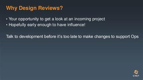 Design Review Best Practices  Srecon 2014