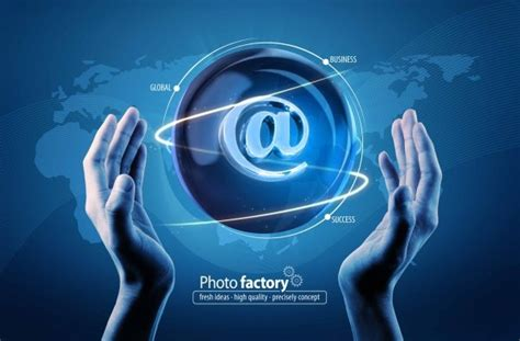 Information Technology Business Psd Layered Free Psd In