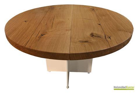 Weiße Runde Tische by Runde Tische Und Esstische Aus Massivholz Holzm 246 Belkontor