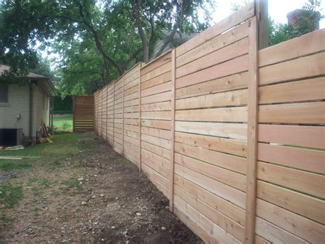 Horizontal Fence Slat Question