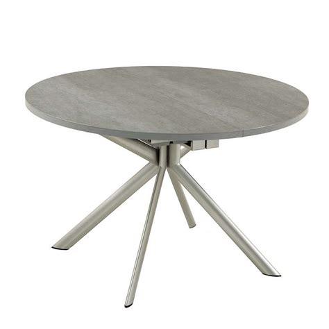 table ronde de bureau table ronde extensible en céramique giove connubia 4