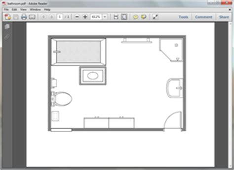 bathroom design templates free bathroom plan templates for word powerpoint pdf
