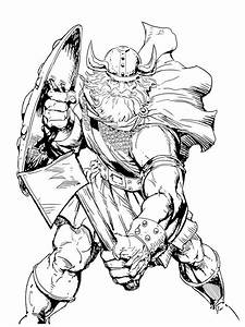 Viking Coloring Pages Free Printable Viking Coloring Pages