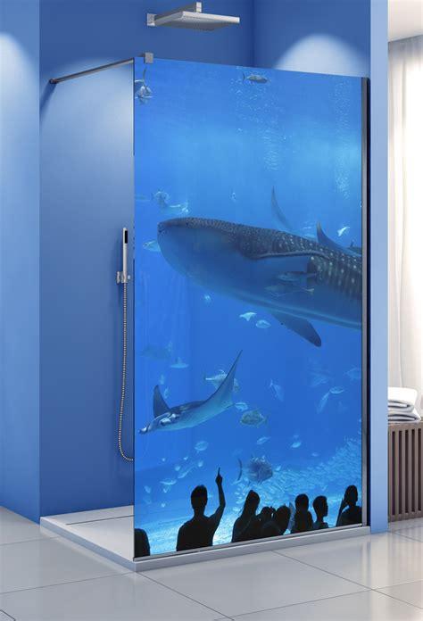 Duschwand Mit Motiv by Profiltek Dekordusche Belus Duschwand 8 Mm Motiv Aquarium