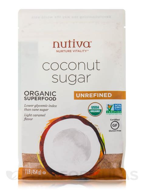 organic coconut sugar oz 454 grams