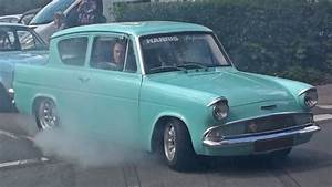 Ford Anglia Burnout With A Mk1 Escort
