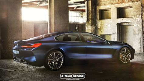 8 Series Coupe 2019 by Rendering 2019 Bmw 8 Series Gran Coupe Is A Stylish