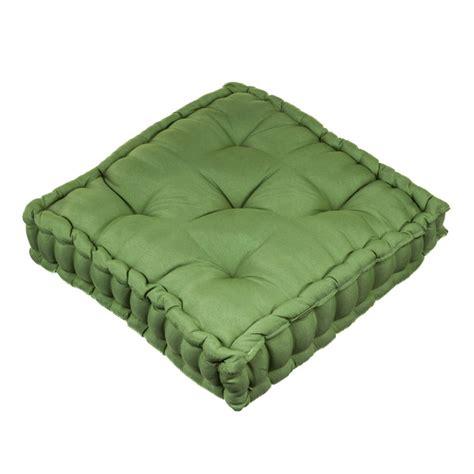 almofadas sofa verde musgo futon basic verde musgo 43x43cm inspire leroy merlin
