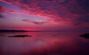 Amazing Pink Sunset wallpaper | 1280x800 | #15312