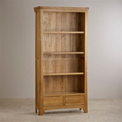 orrick tall bookcase solid oak oak furniture land