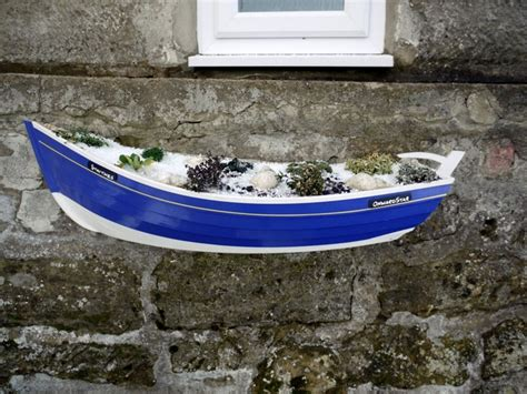 How To Build A Boat Planter by Fishing Boat Planter Classic Wooden Sailboats For Sale