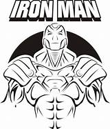 Iron Coloring Pages Colouring Printable Mask Drawing Ironman Thanos Avengers Getdrawings Popular Coloringhome Template sketch template