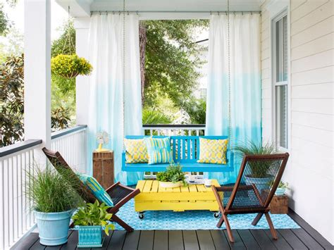 Decorating Front Porches by Budget Friendly Porch Diys Hgtv