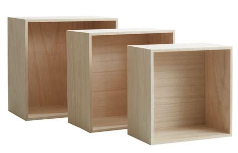 wall shelves ilbro set   natural jysk