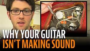 Guitar Wiring No Sound