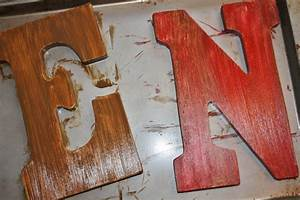 pottery barn inspired noel tutorial sand and sisal With mdf letters michaels