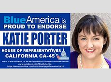 DownWithTyranny! Blue America Endorses Katie Porter In