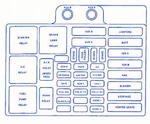 Chevy 3500 6 5 Manual 1998 Fuse Box  Block Circuit Breaker Diagram