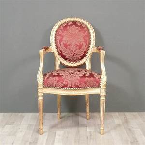 Fauteuil louis xvi medaillon antique furniture french for Fauteuil louis xvi