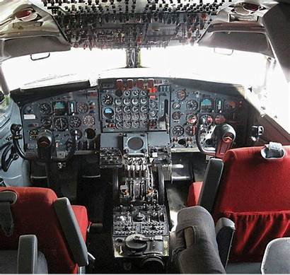 Cockpit 707 Control Boeing Aircraft Airliner 2009