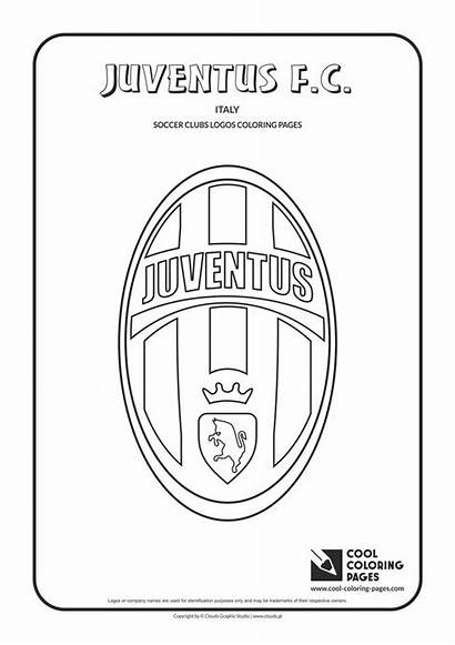 Coloring Juventus Pages Cool Logos Soccer Clubs