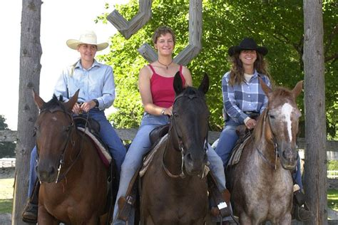 riding horseback vacations michigan rothbury double