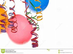 Balloons And Confetti Stock Photo - Image: 4069550