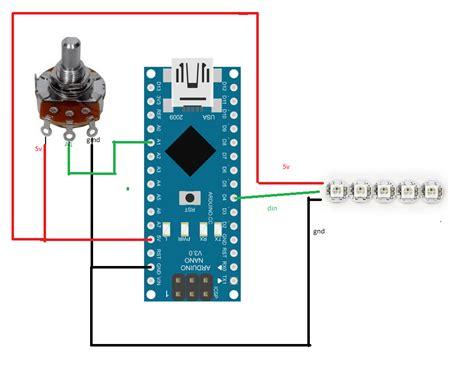 tutorial diy ardunino adjustqable rpm leds  wsb