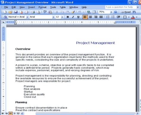 Project Management Manual Template by D3 Method Project Templates Copedia
